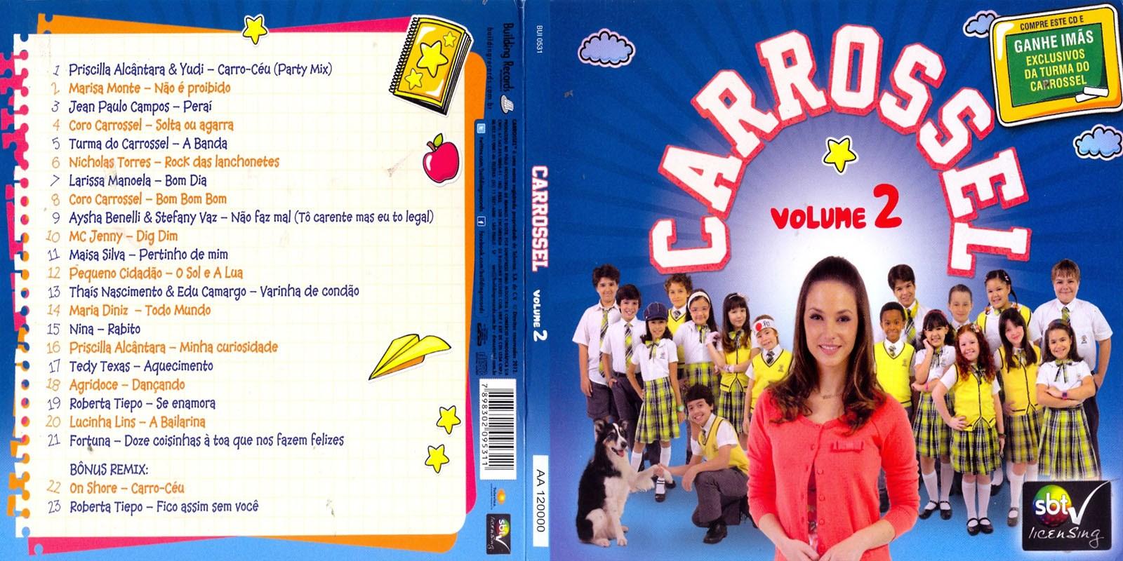 cd carrossel volume 3