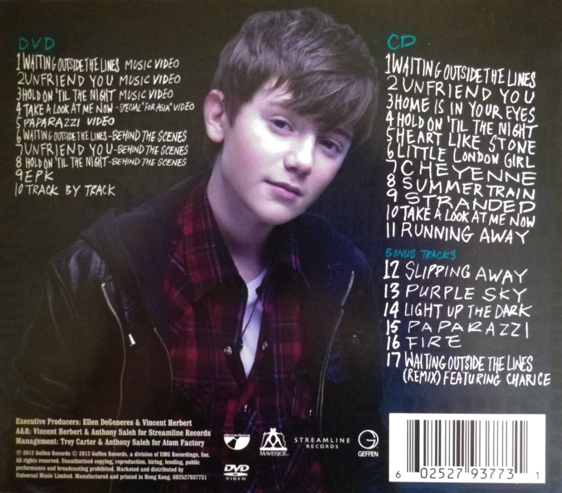 Hold On 'Til the Night - Greyson Chance | Songs, Reviews ...