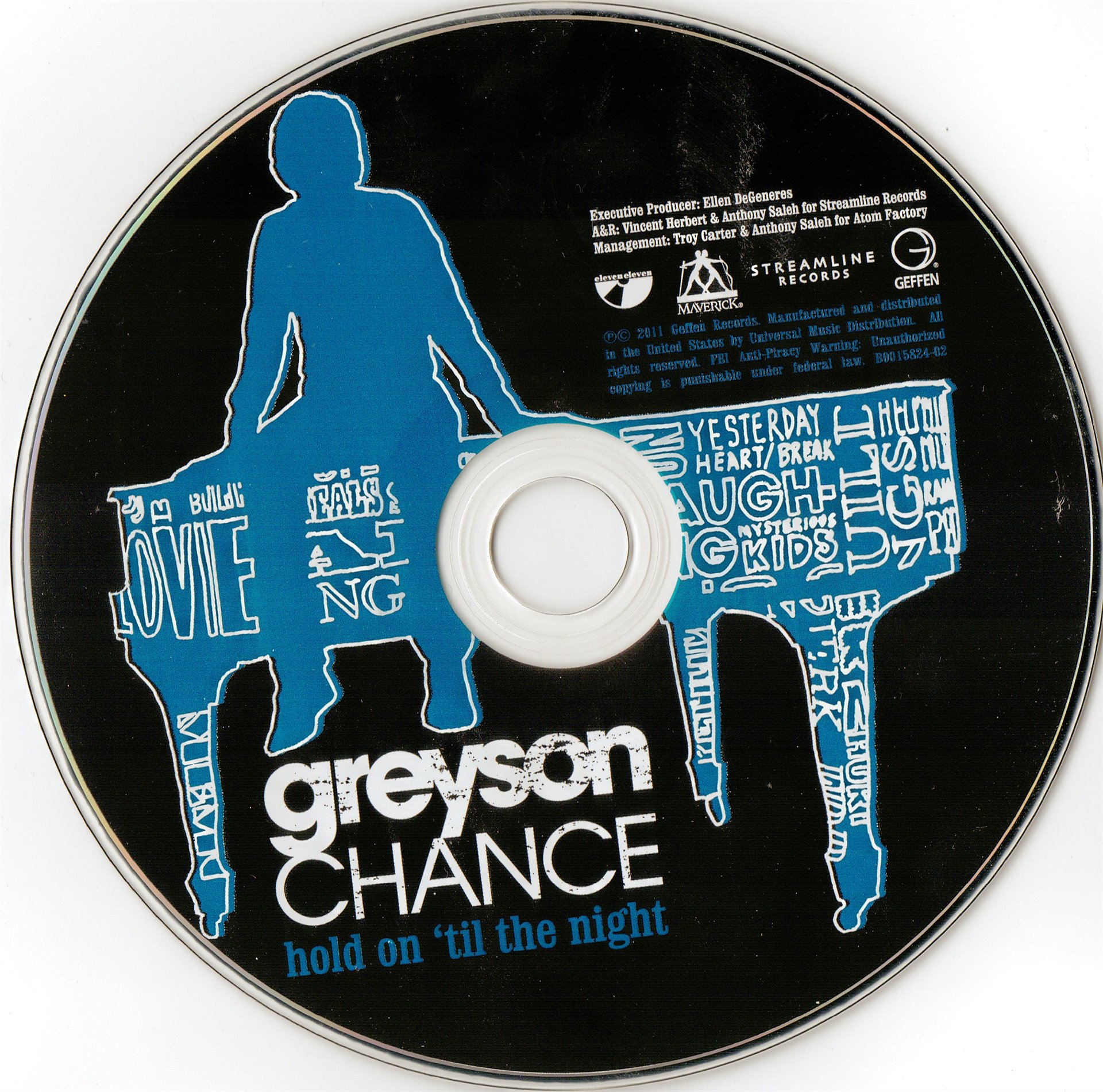 greyson chance - hold on til the night live in manila (HD)