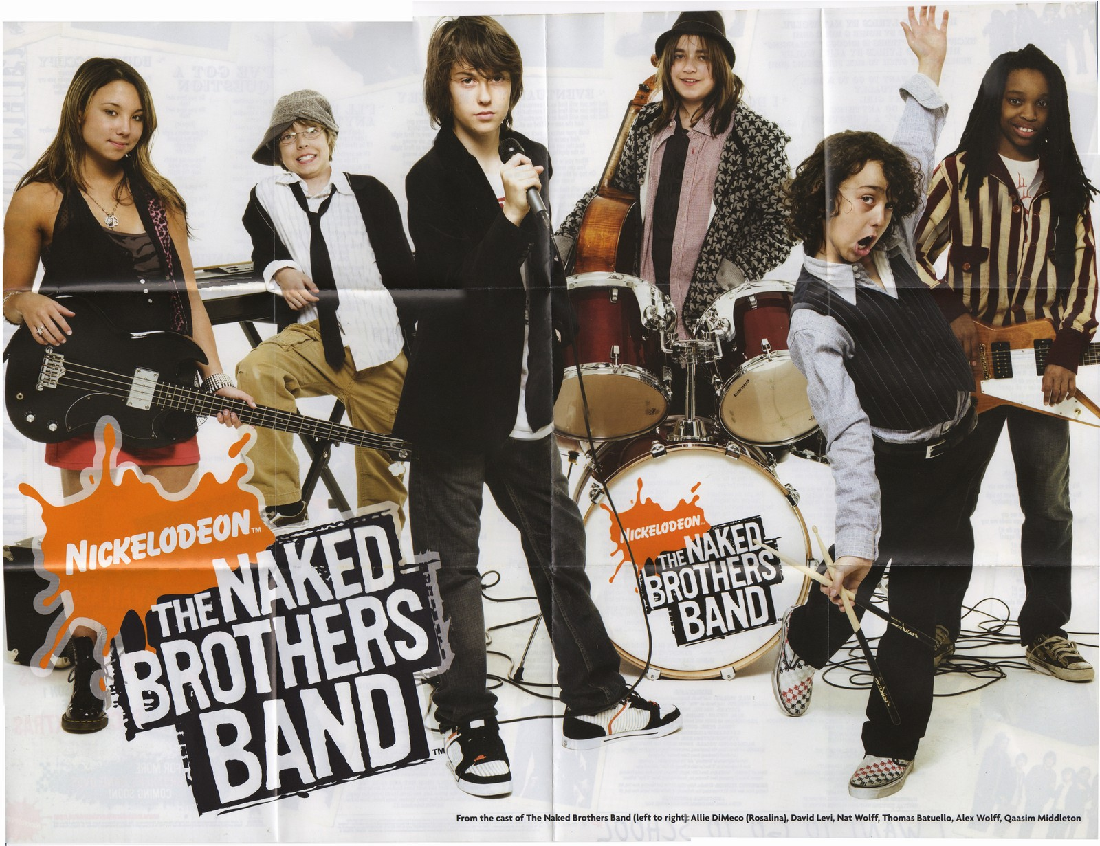 I love the naked brothers band